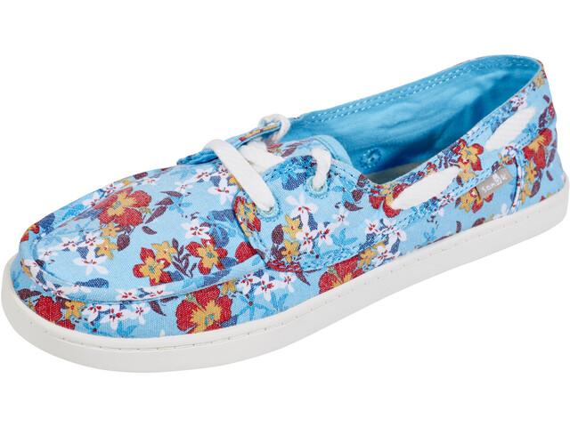 Sanük Pair O Sail Prints Shoes Damen aqua waikiki floral